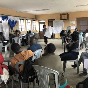 Kenyan entrepreneurs and UBC business students