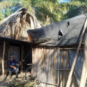 An evicted resident in Chiapas, Mexico