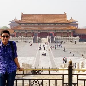 Parsa Shani in China's Forbidden City