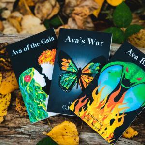 Grace Nosek teen eco-fantasy series, Ava of the Gaia - photo: David Markwei