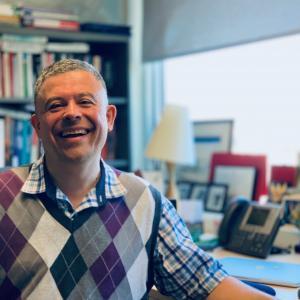 UBC political science professor Yves Tiberghien