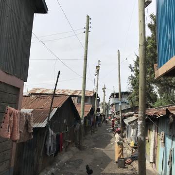 Mukuru, east of Nairobi