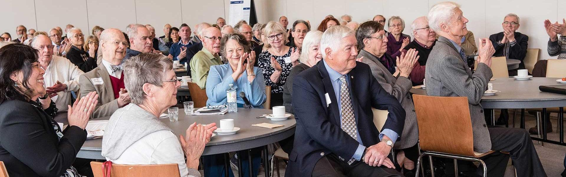 UBC Emeritus College General Meeting in Jack Poole Hall, 2018